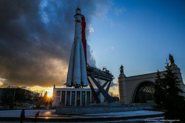 """Ракета-носитель """"Восток"""" на ВДНХ - Блог """"Вестника ПВО ..."""