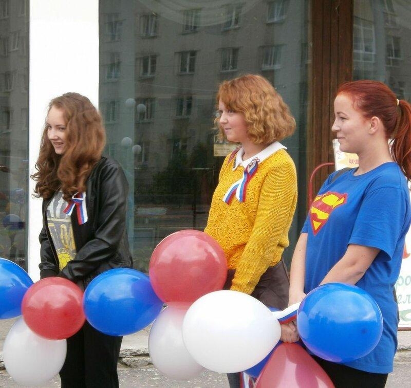 День российского флага в Оленегорске
