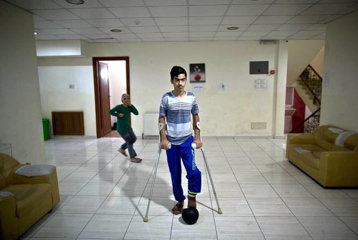 Жизнь в больнице: фотографии жертв военного конфликта на Ближнем Востоке