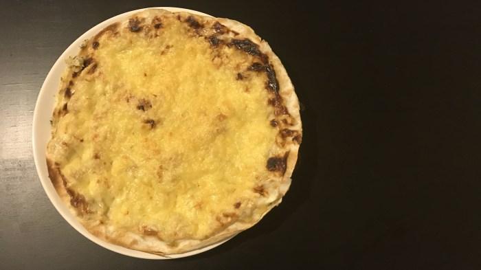 Закуска Флоренция из лаваша и куриной грудки