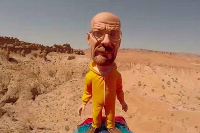 Уолтер Уайт из сериала «Во все тяжкие» побывал в космосе