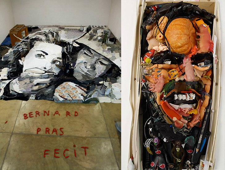 Bernard Pras / Бернард Пра. 3D-анаморфные портреты