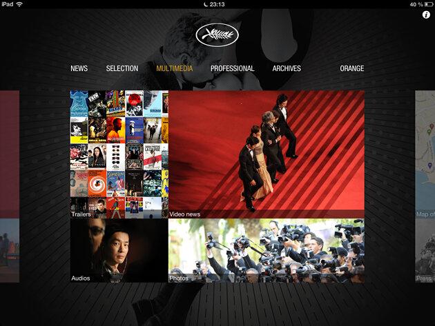 приложение Festival de Cannes - Каннский фестиваль на iPhone и iPad