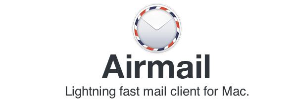 программа Airmail для Mac OS - почтовый клиент и альтернатива Sparrow