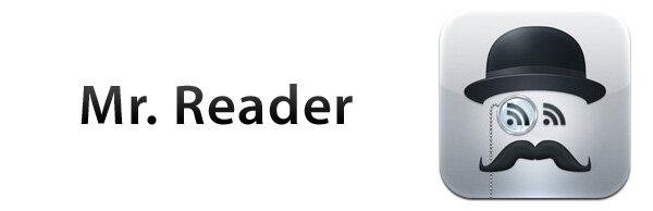 приложение Mr. Reader для iPad - чтение RSS