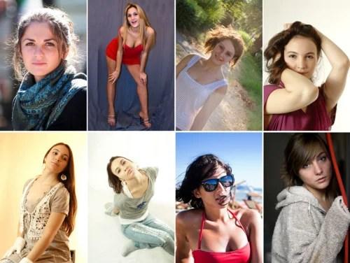 подборка фото красивых девушек