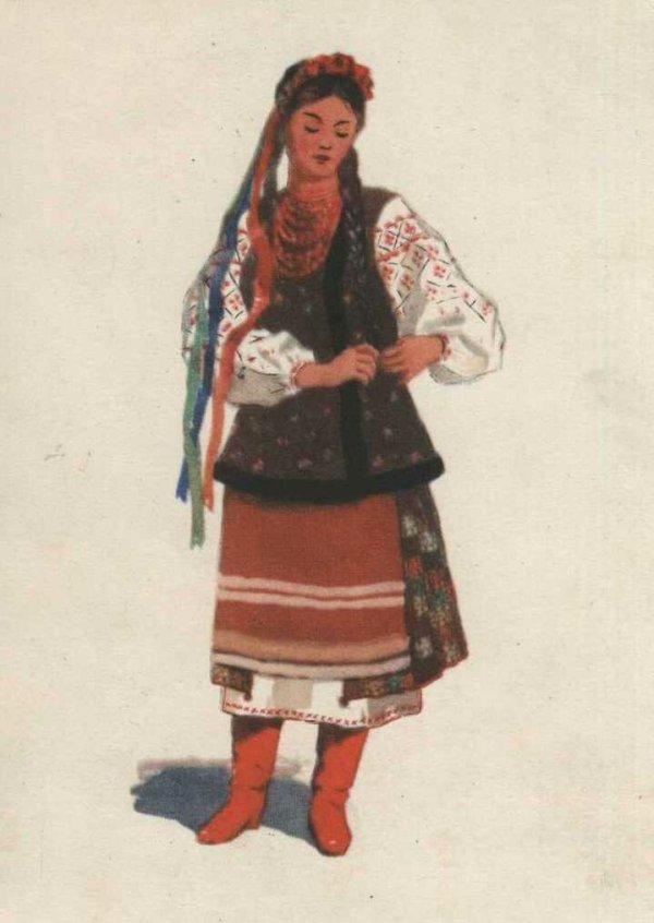 Украинский народный костюм Национальный костюм ЖЖ