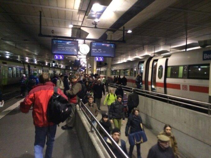 вокзал в Швейцарии