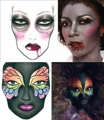 Стань звездой! Креативный макияж и идеи для Хэллоуина ...