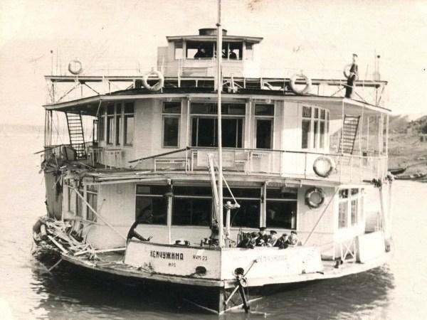 Волжские пароходы и теплоходы на старых фото, часть №3 ...