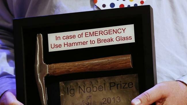 Ig nobel prize 2013. 10 самых абсурдных открытий года