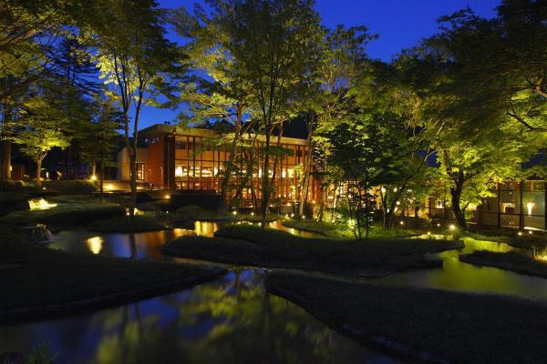 Оздоровительный курорт Hoshinoya Karuizawa в Японии