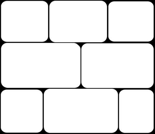 Шаблоны для создания коллажей в фотошопе в формате PNG