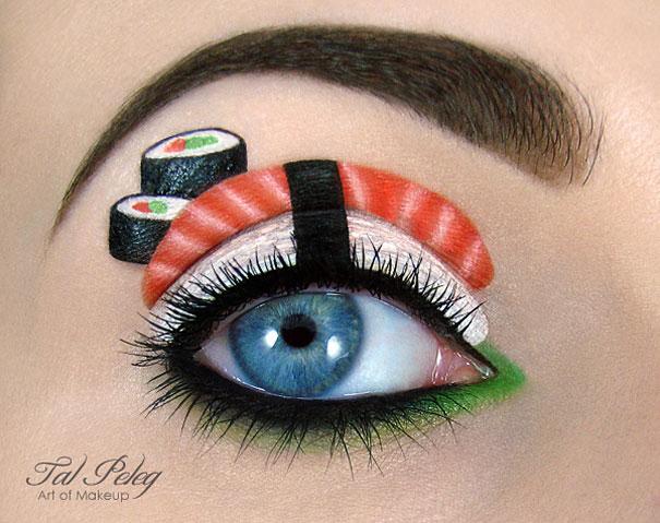 Айлид-арт от Tal Peleg / Тал Пелег. Праздничный макияж. 25 фото