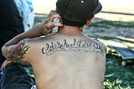 [Tattoo]. Типографические татуировки / Typographic Tattoos. 60 штук на любой вкус