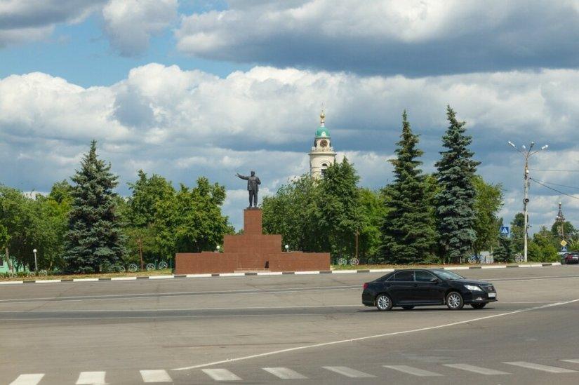 Павловский Посад, Площадь Революции