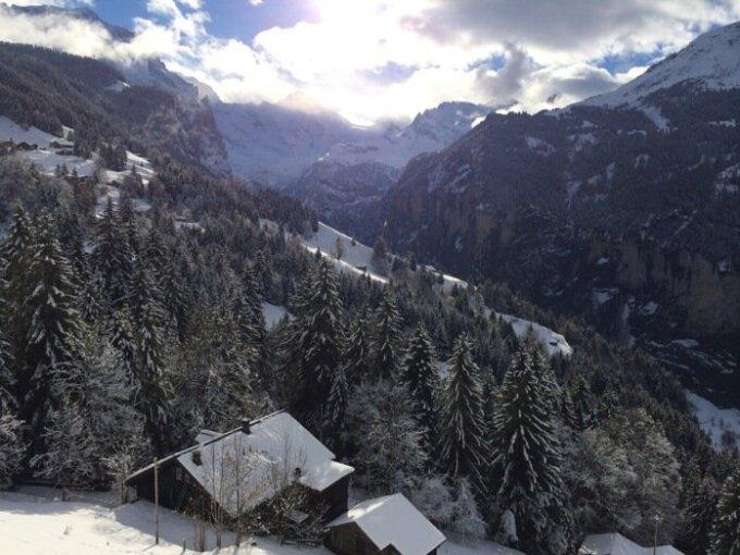 Швейцарская деревня