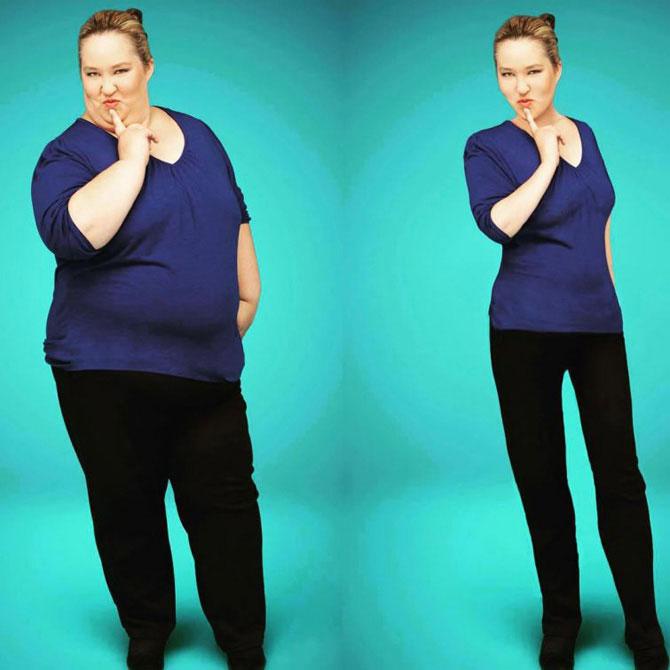 Цифровая липосакция: мастера фотошопа берут фотографии полных женщин и делают их худыми