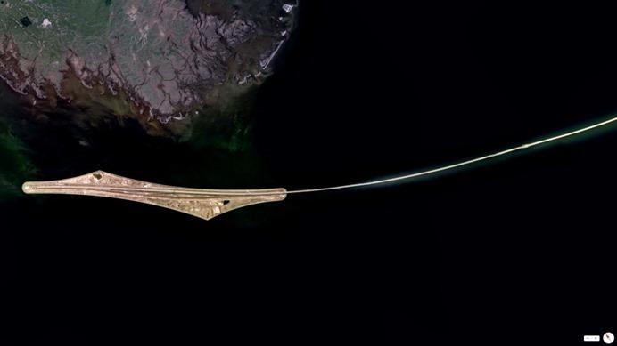Удивительные виды Земли из космоса