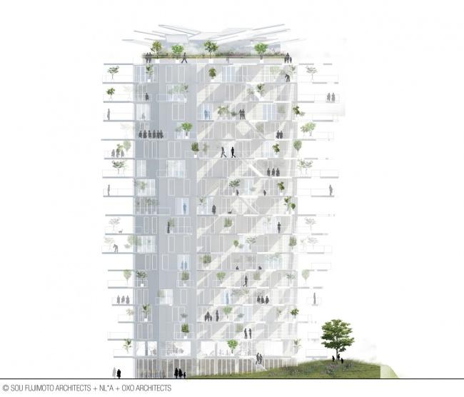 Жилой комплекс L'Arbre Blanc / Белое дерево. Монпелье, Франция