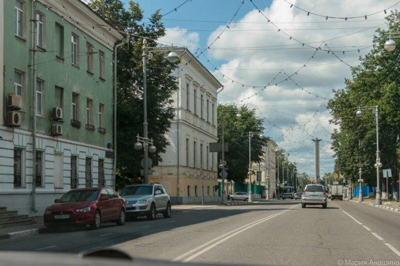 Советская улица и Обелиск Победы, Тверь