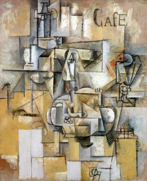 П. Пикассо, *Голубь с зеленым горошком*
