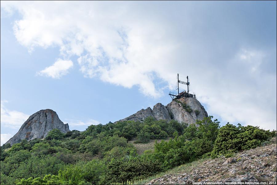 Estación de la luna en Crimea