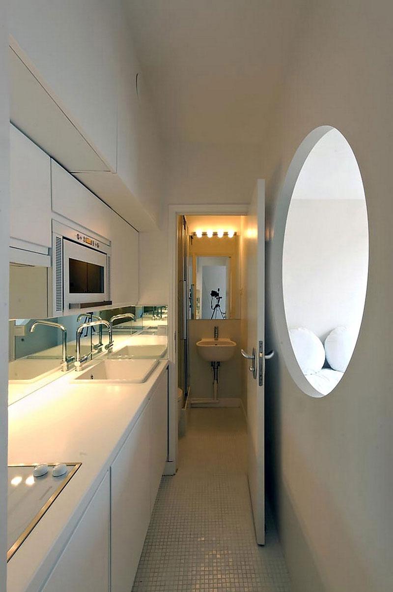 Парижские апартаменты на 18 кв.м. Проект BioApart-2. Бюро Karawitz