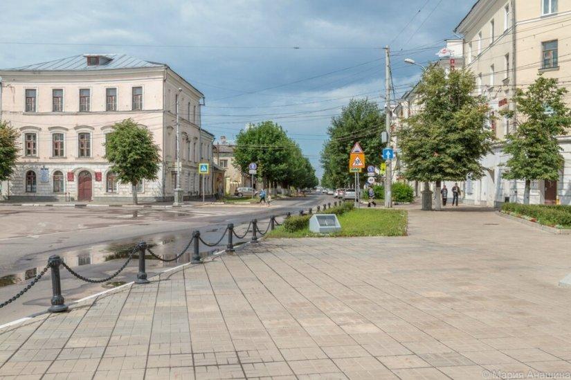 Начало улицы Вольного Новгорода, Тверь