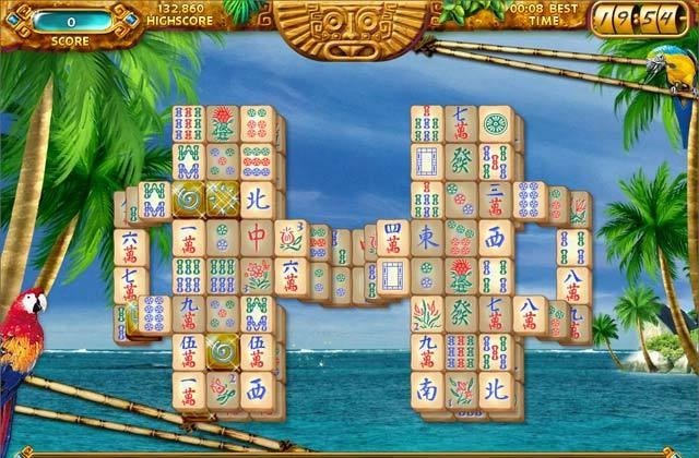 Mahjongg Ancient Mayas Games Three Tiles Ancient Mayas