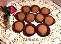 Receta trufas de chocolate rellenas