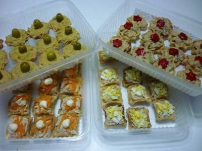 receta de tartaletas saladas variadas