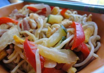 receta de chow mein noodles