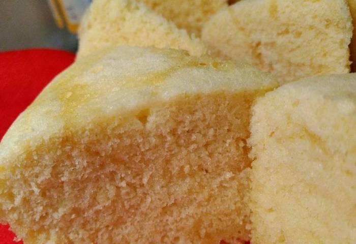 25 Resep Sponge Cake Kukus Tanpa Pengembang Enak Dan Sederhana Cookpad