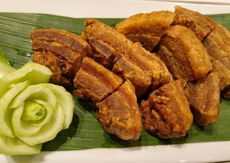 Litson Recipe Kawali