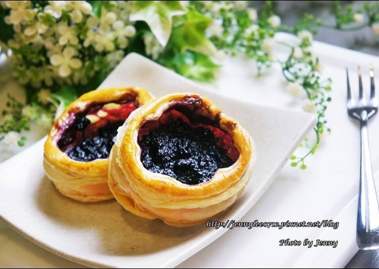 藍莓果醬與藍莓起酥塔的交響曲食譜 by Jenny‧食旅玩味生活札記 - Cookpad