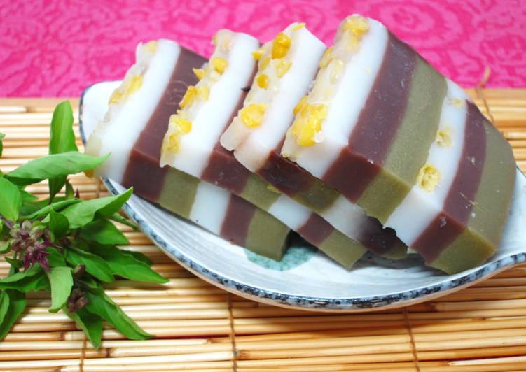 玉米粒娘惹糕食譜 by 陸蓮兒 - Cookpad