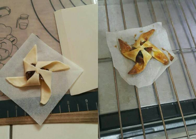 自製起酥皮-風車蘋果派食譜 by 楊家-老大 茹爺~ - Cookpad