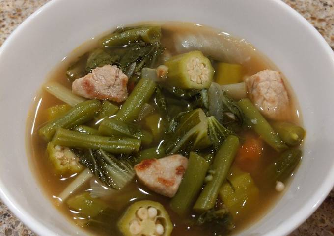 Recipe of Gordon Ramsay Sinigang (sour soup)