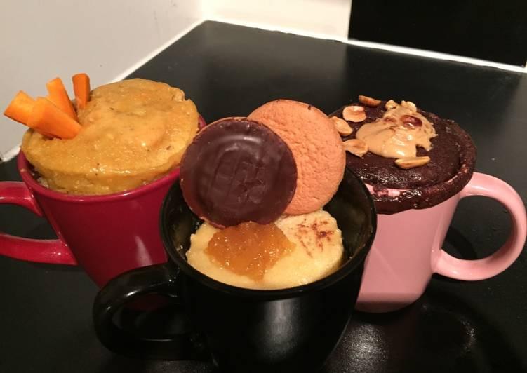 Mug cake (carrot cake)