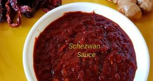 Schezwan Sauce Indo Chinese Dip