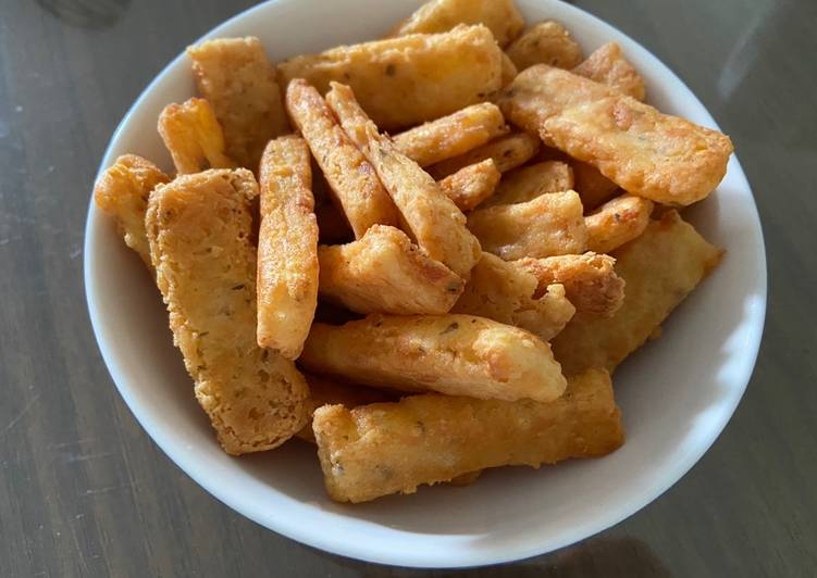 Easy Cooking: Potato Cheese Stick