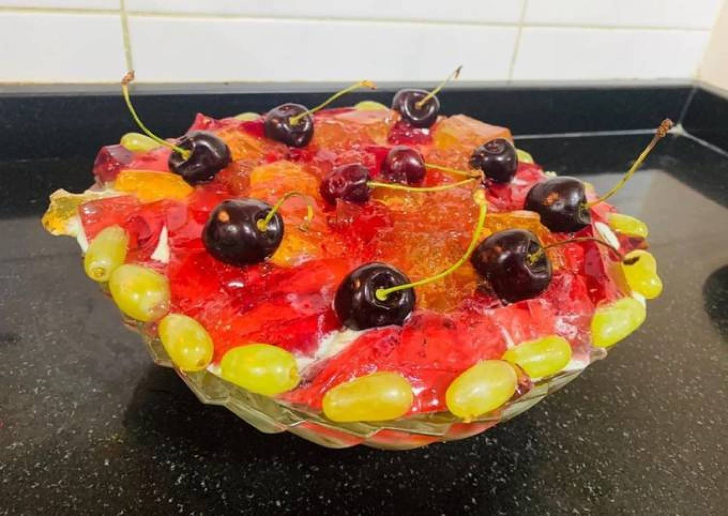 Special Creamy Fruit trifle