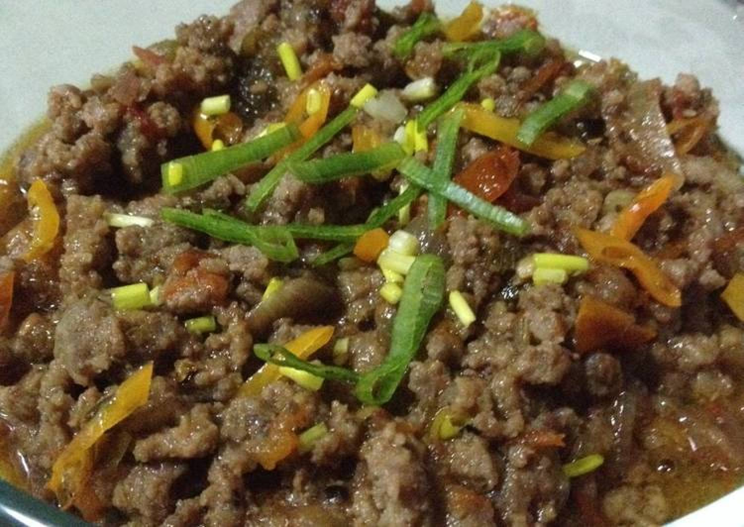 Saucy Tomato Beef Keema (non-curry) - Mince