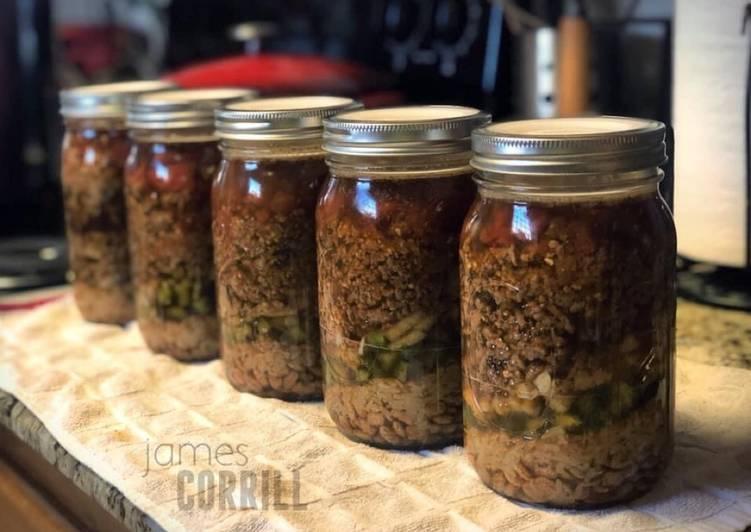 Recipe of Ultimate Burrito in a Jar