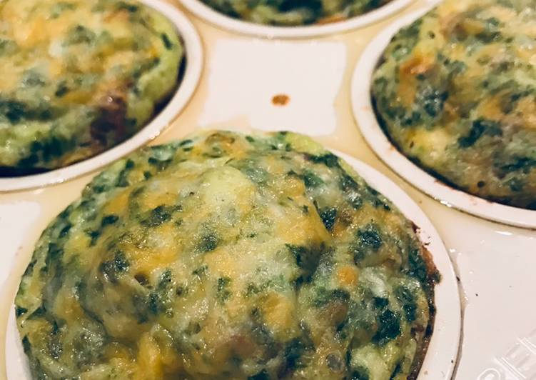 Green Eggs & Ham Breakfast Muffins