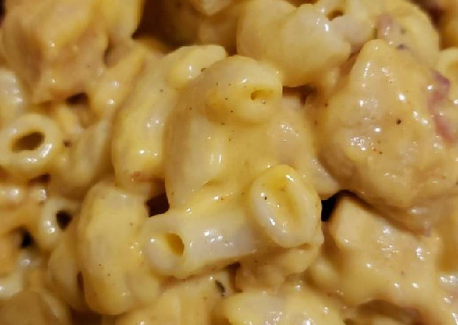 Chicken bacon mac and cheese