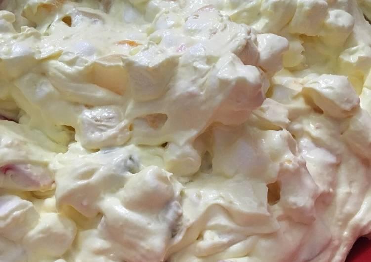Creamy Fruit Salad Austin's fruit salad