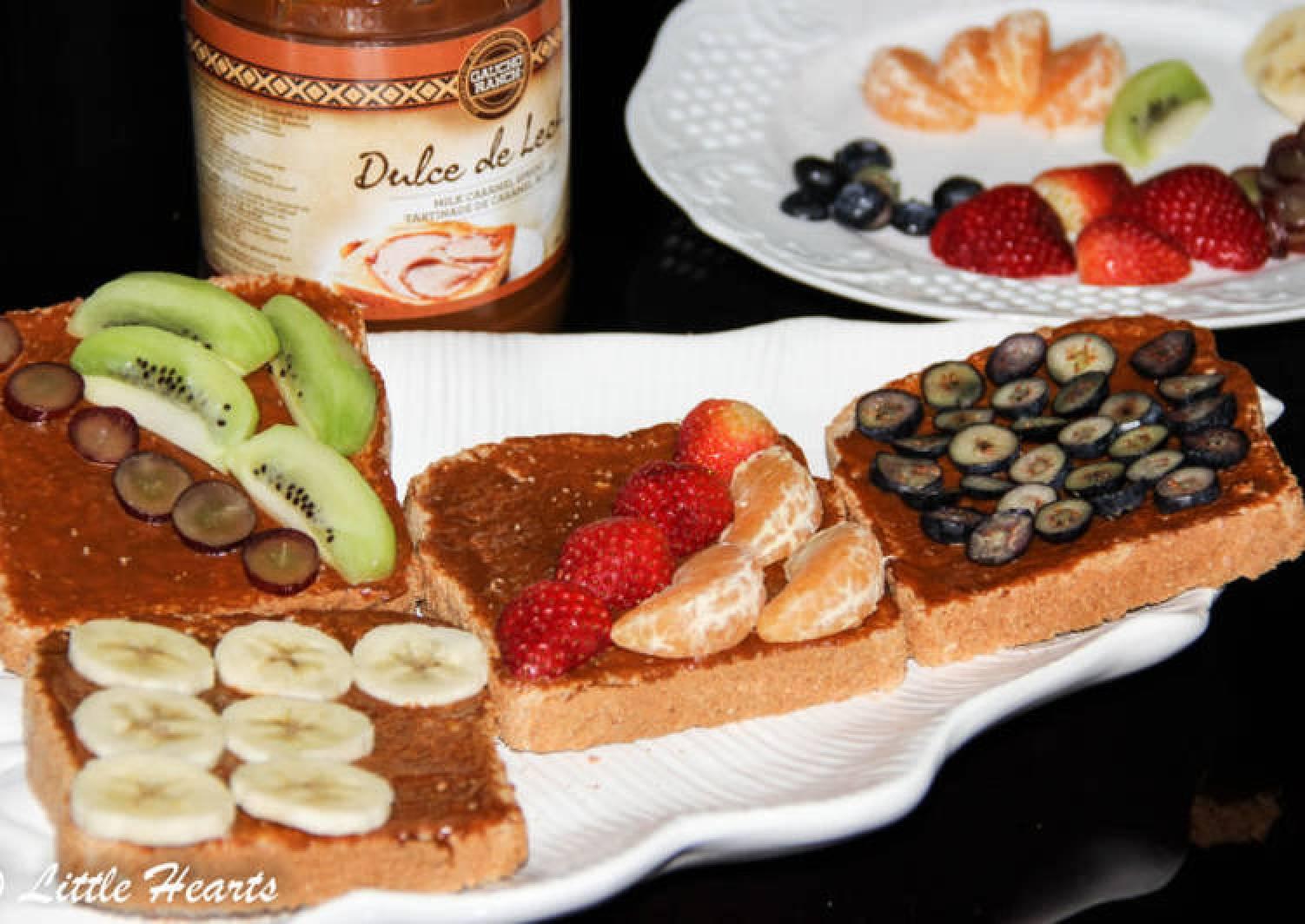 Fruit Toast 4 Ways
