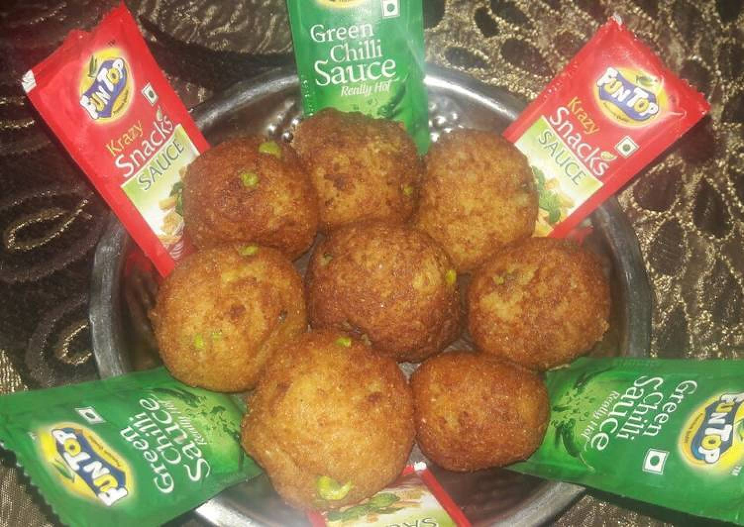 Healthy Deep fry Nuggets.(evening tea snacks)